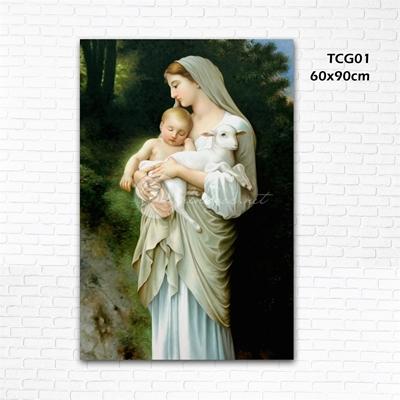 Đức mẹ bế chúa - TCG01