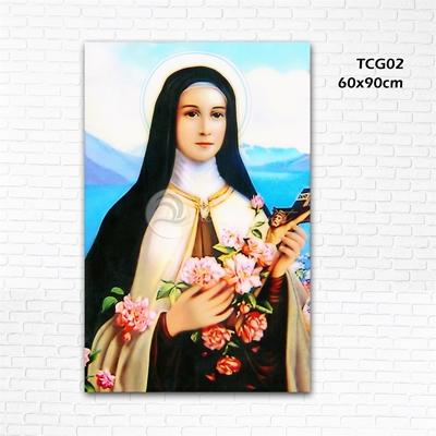 Đức mẹ và hoa - TCG02