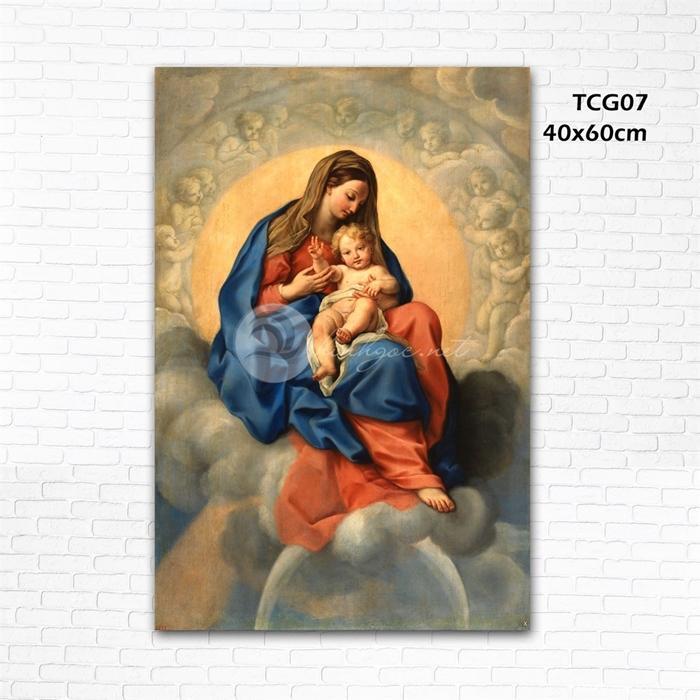 Đức mẹ và bé - TCG07