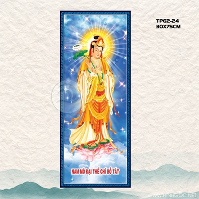 Phật nâng hoa sen - TPG-24