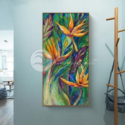 Bức tranh hoa sơn dầu - TT219