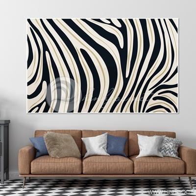 Nghệ thuật đen trắng trừu tượng - TT244