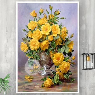 Lọ hoa hồng vàng - TT245