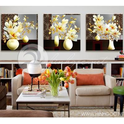 Hoa 3D giả ngọc -  TT254