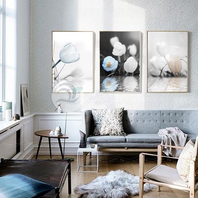 Bộ tranh hoa tuylip - TT267