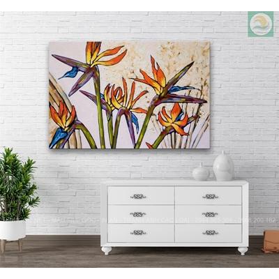 Tranh sơn vẽ hoa TV880