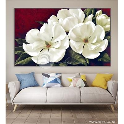 Bức tranh hoa nở - VKC17