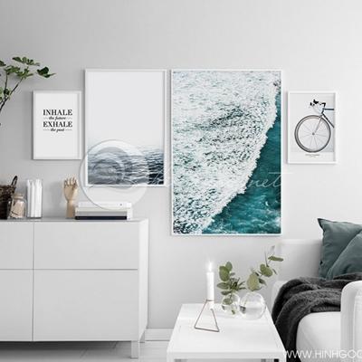 Tranh bộ cảnh biển - VM48