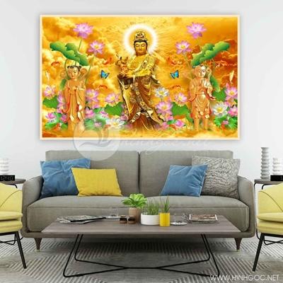 Tranh Phật Quan Âm - AB-16
