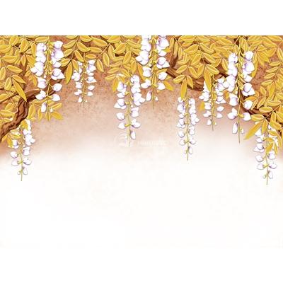 Tranh trang trí cành hoa-BJ-081
