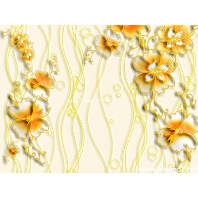 Tranh trang trí họa tiết hoa-BJ-102
