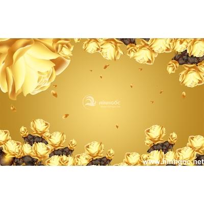 Tranh trang trí hoa hồng -BJ-209