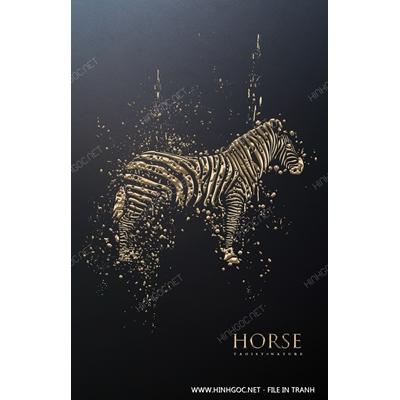 Ngựa vằn vàng kim - BTT187