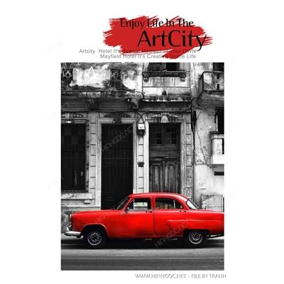 Xe oto đỏ - BTT304