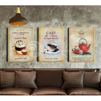 Trang trí coffee quán - DEF-54