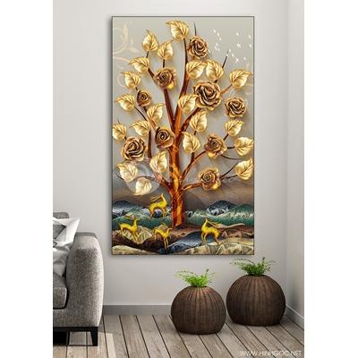 Cây hoa hồng vàng - DEN42