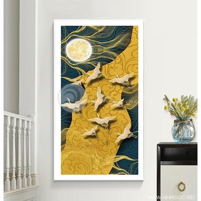 Đàn chim bay lượn dưới trăng - DEN97