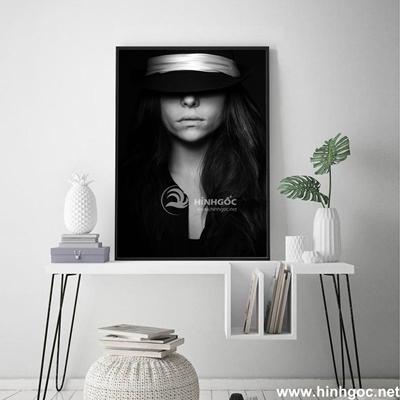 Tranh chân dung nghệ thuật cô gái - DES-120