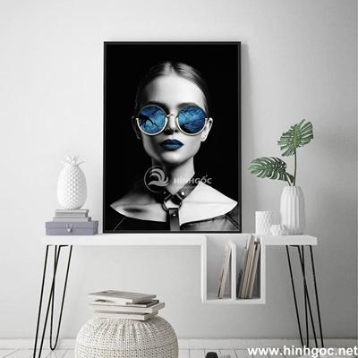 Tranh chân dung nghệ thuật cô gái - DES-122
