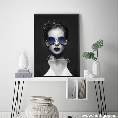 Tranh chân dung nghệ thuật cô gái - DES-123