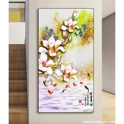 Tranh bình hoa và họa tiết-DLV-141