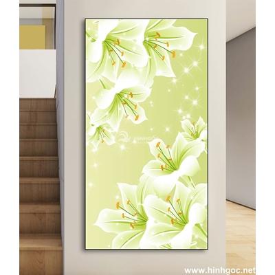 Tranh bình lọ hoa 3D-DLV-152