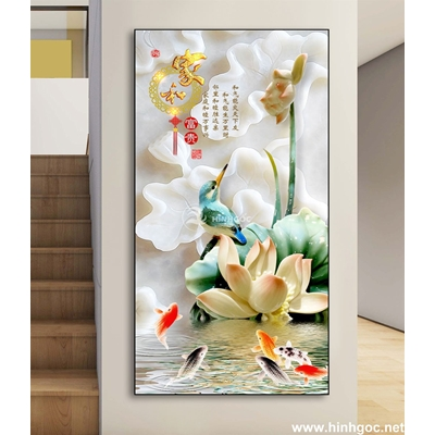 Tranh 3D bonsai-DLV-159