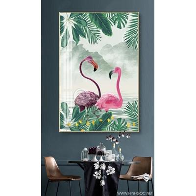 Đôi chim hồng hạc - GEN99