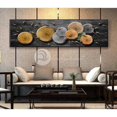 Tranh treo tường, tranh cá chép vàng-GPD07
