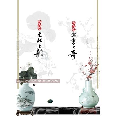 Hình in ấn, file in uv tủ nhựa, trang trí chất lượng cao - H2-002