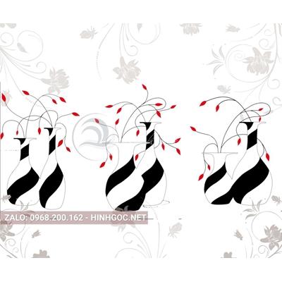 Hình in ấn, file in uv tủ nhựa, trang trí chất lượng cao - H2-005