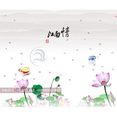 Hình in ấn, file in uv tủ nhựa, trang trí chất lượng cao - H2-009