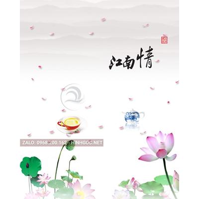 Hình in ấn, file in uv tủ nhựa, trang trí chất lượng cao - H2-010