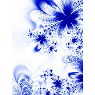Hiệu ứng nền background nền bông hoa họa tiết màu xanh-imagestock_22286218