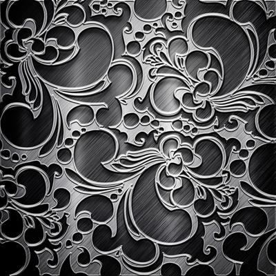 Hiệu ứng nền background hoa văn màu xám đen -imagestock_43413871