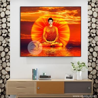 Tranh Phật thích ca mâu ni - KEN35