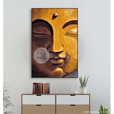 Tranh gương mặt Phật - KEN67