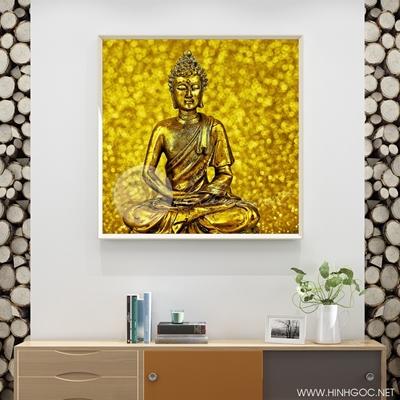 Tranh tượng Phật vàng - LEN95
