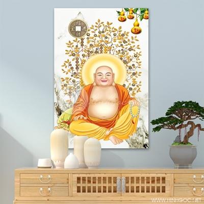 Tranh Phật Di Lặc mẫu 02 - LEN98