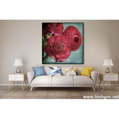 Tranh vẽ hoa hồng -MTS-113