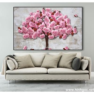 Tranh trang trí hoa hồng-MTS-170