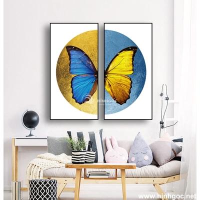 Tranh ghép con bướm-MTS-178