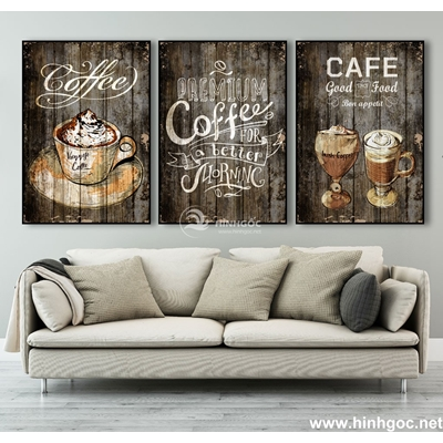 Tranh tranh trí COFFEE-MTS-85