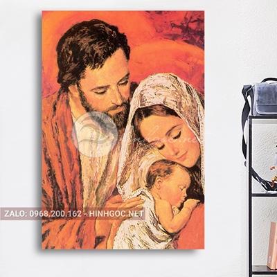 Tranh công giáo, gia đình Chúa-NTS-151