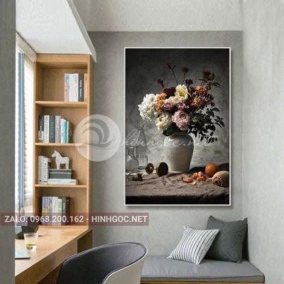 Tranh lọ hoa, trang trí tường đẹp-QART-33