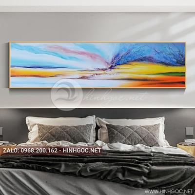 Tranh trừu tượng, cảnh sắc màu-QDS-110