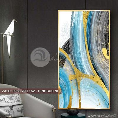 Tranh treo tường, tranh trừu tượng sắc màu-QDS-176