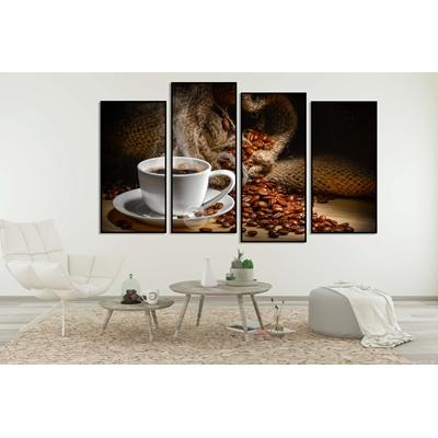 Tranh bộ tách coffee TB2-126