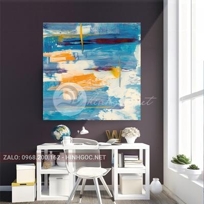 Tranh trừu tượng sắc màu nghệ thuật-THC-111