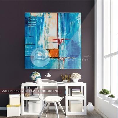 Tranh trừu tượng sắc màu nghệ thuật-THC-112
